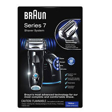 NEW Braun Series 7-760cc Pulsonic Men's Shaver System Electric Shaving Razor