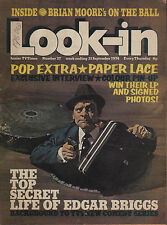 Look-In Magazine No.37  21 September 1974   Paper Lace   David Jason  Colin Todd