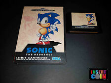 JUEGO SEGA MEGA DRIVE SONIC THE HEDGEHOG (PAL)