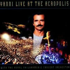 CD YANNI HRYSOMALLIS LIVE AT THE ACROPOLIS NUOVO ORIGINALE SIGILLATO NEW SEALED
