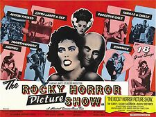 THE ROCKY HORROR PICTURE SHOW MANIFESTO TIM CURRY SUSAN SARANDON BARRY BOSTWICK