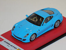 1/43 Make Up Ferrari 599 GTO 2010 Baby Blue limited 20 pcs