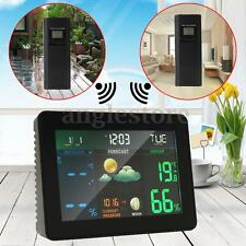 Digital Alarm Clock, Weather Station Wireless Indoor/Outdoor With Night LCD