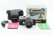 Excellent Canon FT QL 35mm SLR Film Camera with 50mm f/ 1.4 lens kit #946