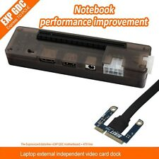 Mini V8.0 EXP PCI-E Video Card Notebook External Independent Graphics Card Dock