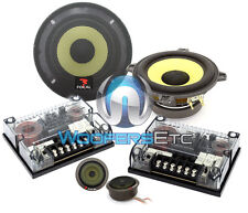 "OPEN BOX FOCAL 130K K2 POWER 5.25"" 70W RMS 2WAY COMPONENT TNK TWEETERS SPEAKERS"