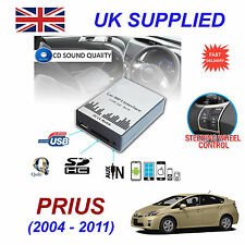 TOYOTA PRIUS MP3 SD USB CD AUX Input Audio Adapter Digital CD Changer Module