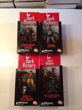 DC Direct Dark Victory Complete Set Nib Batman Robin Penguin Gordon Scarecrow
