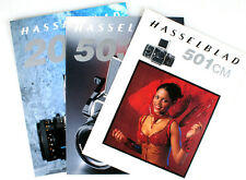 SET OF 3 HASSELBLAD BROCHURES