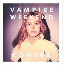 VAMPIRE WEEKEND CD - CONTRA (2010) - NEW UNOPENED