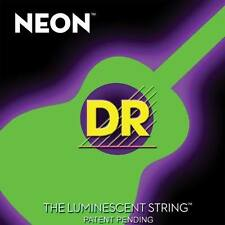 DR NGA-11 Neon Green Acoustic Guitar Strings 11-50 gauge