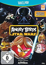 Angry Birds Star Wars (Nintendo Wii U, 2013, DVD-Box)