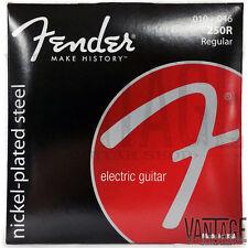 (3 Pack) Fender 250R Super 250 Nickel Plated Electric Guitar Strings (10-46)