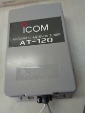 I-COM AT-120 AUTOMATIC ANTENNA TUNER ; SINGLE SIDEBAND ANTENNA TUNER