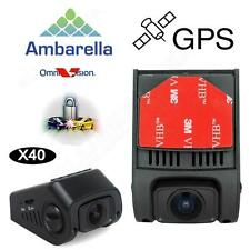 X40 Mini0840 Ambarella A7 HD 1080P Car Video Register Dashcam GPS Camera P1G