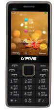 GFIVE W1i FOUR sim mobile WITH wireless FM Black