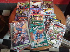 5x Superman DC Comics Job Lot Grab Bag Collection 1990s to 2000s VF/NM BARGAIN!