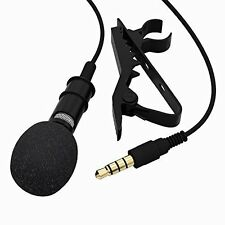 Toch Lavalier Lapel Tie Clip-on Omnidirectional Condenser Microphone Mini Mic