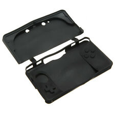 Black Soft Silicone Rubber Gel Protective Skin Case Cover Guard For Nintendo 3DS