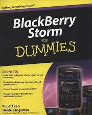 NEW - BlackBerry Storm For Dummies (For Dummies (Computers))