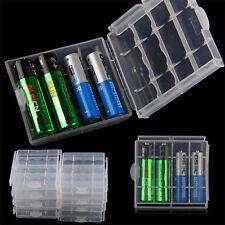 4* Batterieschutz Aufbewahrungsbox aus Kunststoff Halterung Für AA AAA Batterie