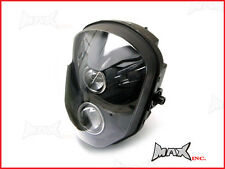 High Quality Dual Stacked Projector Streetfighter Headlight Mask Insert Emarked