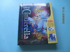 CINDERELLA (Blu-Ray/DVD, 2-Disc Set With 32-Page Storybook) TARGET EXCLUSIVE New