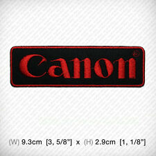 new CANON EMBROIDERED PATCH IRON ON or SEW, Pro Camera Photographer Focus point