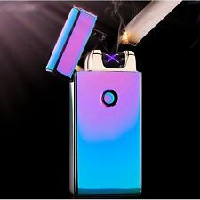 Rechargeable Electric DOUBLE Arc Pulse Plasma Cigarette USB Lighter Flameless CX