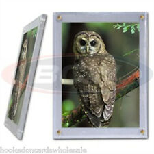 5 - BCW 5 x 7 Screwdown Photo or Postcard Holders Display Cases