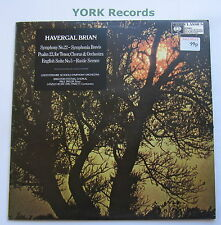 61612 - BRIAN - Symphony No 22 / Psalm 23 / English Suite No 5 - Ex LP Record
