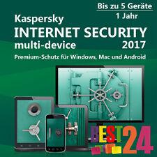 KASPERSKY INTERNET SECURITY 2017 5 PC / Geräte / 1JAHR VOLLVERSION HERUNTERLADEN