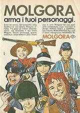 X4548 MOLGORA arma i tuoi personaggi - Pubblicità 1976 - Advertising
