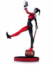 DC COMICS COVER GIRLS HARLEY QUINN STATUE, FACTORY SEALED NIB / MIB (BATMAN)