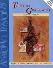 Principles of Anatomy & Physiology Tortora &Grabowski 9th Edition Hardcover book
