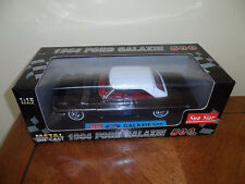 1964 Ford Galaxie 500 - Black - New in Box by Sun Star 1:18 Scale Die Cast Car