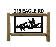 DUCK HUNTING-DUCKS UNLIMITED- CLINGERMANS OUTDOOR SIGNS-WATERFOWL #DK15241-2
