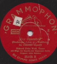 Kammersänger Richard Fritz Wolf 1939 singt Richard Heuberger : Der Opernball