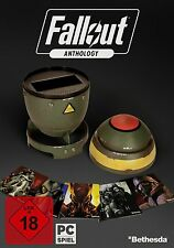 Fallout Anthology-Rare retail box con mini Nuke-PC alemana de versión-productos nuevos