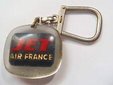 ANCIEN PORTE CLES CARAVELLE BOEING 707 INTERCONTINENTAL JET AIR FRANCE BOURBON