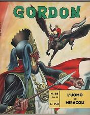 GORDON fratelli spada N.58 L' UOMO DEI MIRACOLI flash f.lli dan barry 1966