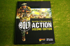Bolt Action 2nd Edition Rulebook WW2 WARLORD GAMES 28mm