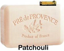 Pre de Provence French Soap PATCHOULI Scent Case of 12 x 250 gram XL Bath Bars