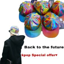 Back to the future Color Changing Snapback Cap Kpop Bigbang GD G-Dragon Hat Cool