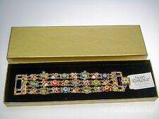 New SWEET ROMANCE Millefiori Bracelet - Wide Multistrand Discontinued