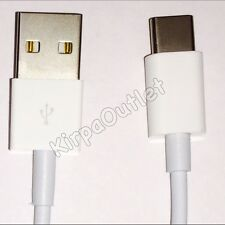Genuine USB 3.1 Type C Charger Cable For Macbook White 1m New Sameday Dispatch