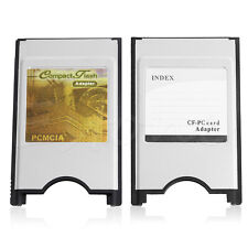 Compact Flash CF to PC Card PCMCIA Adapter Cards Reader for Laptop Notebook Hot