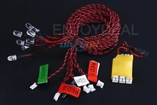 NEW 8 LED Bright Flashing Light bulb System for RC Helicopter Plane Glider boat