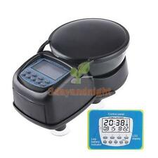 Automatic Aquarium Tank Fish Food Feeder Digital Timer LCD Feeding New