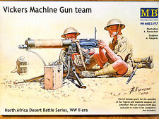 Masterbox 1:35 Vickers Machine Gun Team Model Kit
